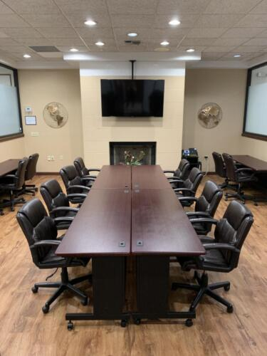 Summit Executive Center meeting room conference environment with tv